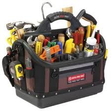 Water Softener Service and repair tool bag