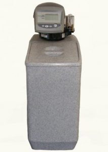 Timer controlled water softener